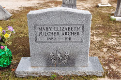 Mary Elizabeth <i>Fulcher</i> Archer