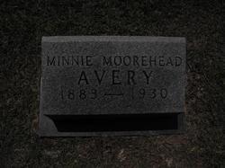 Minnie <i>Moorehead</i> Avery