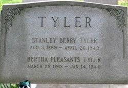 Bertha <i>Pleasants</i> Tyler