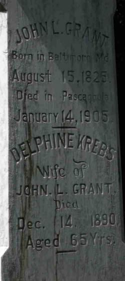 Delphine <i>Krebs</i> Grant