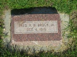 Fred Robert Herman Brock, Jr
