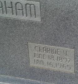 Clarine <i>Vinzant</i> Graham
