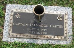 Capt Talmadge Carter