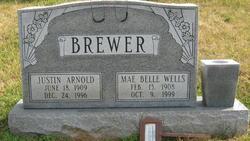 Mae Belle <i>Wells</i> Brewer
