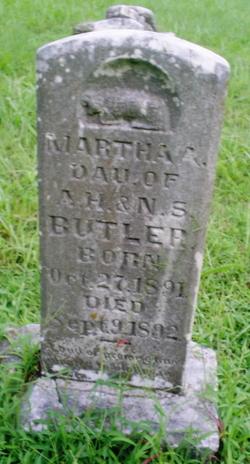 Martha A Butler