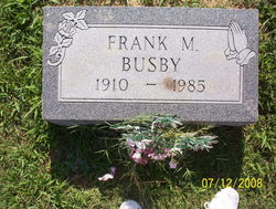 Frank Marion Busby