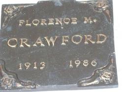 Florence M Crawford
