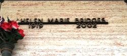 Helen Marie <i>Van Dyke</i> Bridges