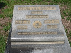 Addie Lee <i>Boothe</i> Adams