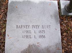 Barney Ivey Burt