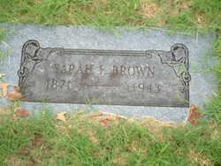 Sarah Francis Sallie <i>Rasberry</i> Brown