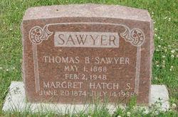 Maragret <i>Hatch</i> Sawyer