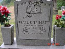 Pearlie <i>Triplett</i> Conley