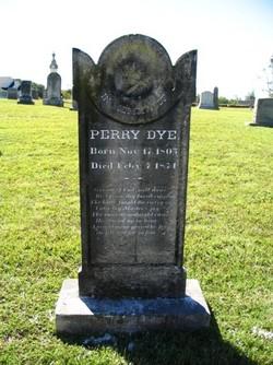 Perry Dye, I