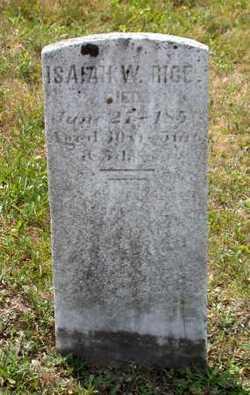 Isaiah W. Isaac Rice