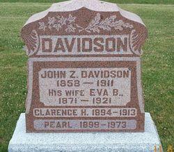 Evalena Bell Eva <i>Duryea</i> Davidson