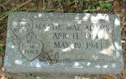 Mattie Mae <i>Hoodless</i> Adams