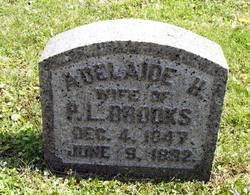 Adelaide H <i>Crandall</i> Brooks