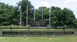 Maryland Veterans Cemetery Eastern Shore