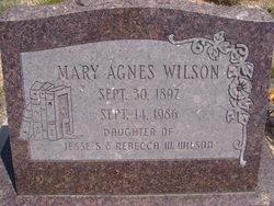 Mary Agnes Wilson