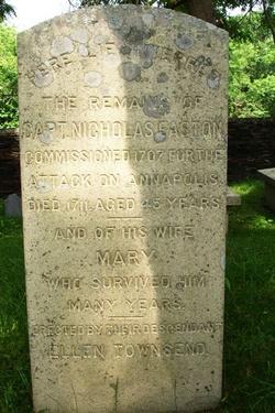 Mary <i>Holmes</i> Easton
