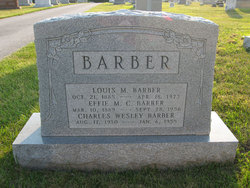 Louis M Barber