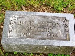 Ruth Evelyn <i>Heston</i> Gregory