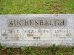 Adeline S Bloom Adda <i>Aughenbaugh</i> Hunter