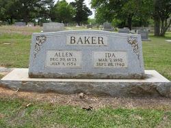 Ida Carol <i>Worsham</i> Baker