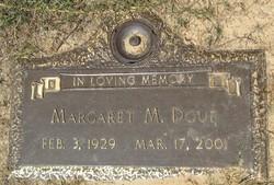 Margaret Elizabeth Peggy <i>Miller</i> Doub