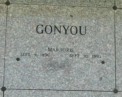 Marjorie V <i>LaFave</i> Gonyou