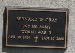 Bernard W Gray