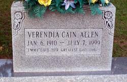 Verendia Emmy <i>Cain</i> Allen