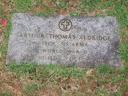 Arthur Thomas Aldridge