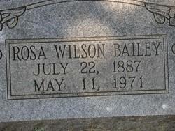 Rosa <i>Wilson</i> Bailey