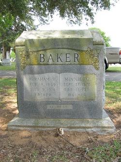 Minnie G. <i>Cowell</i> Baker
