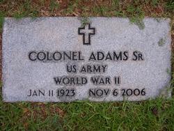 Colonel Adams, Sr
