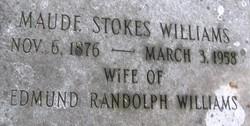 Maude L <i>Stokes</i> Williams