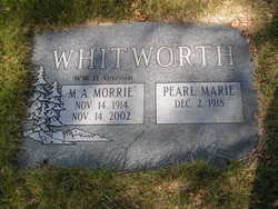 Maurice Alan Morrie Whitworth