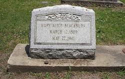 Mary Alice Blackburn
