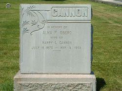 Alma Fredricka <i>Oberg</i> Cannon