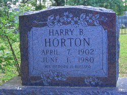 Harry Barncastle Horton