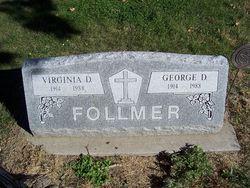 Virginia D <i>Burkett</i> Follmer