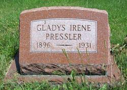 Gladys Irene <i>Phend</i> Pressler