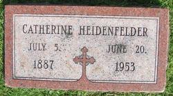 Catherine Veronica Kitty <i>Kearns</i> Heidenfelder