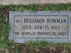 Benjamin Bowman