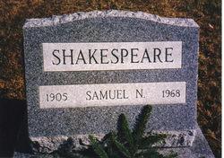 Samuel Neisler Shakespeare