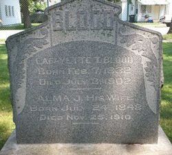 Lafayette T Blood
