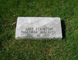 Abby Staunton Hagerman Shafroth