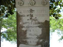 Maj Andrew Burnet Rhett